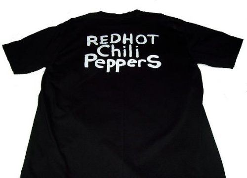 Camiseta Red Hot Chili Peppers detras