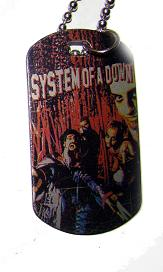 Colgante Placa System Of Down 2