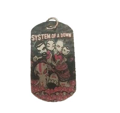 Colgante Placa System Of Down